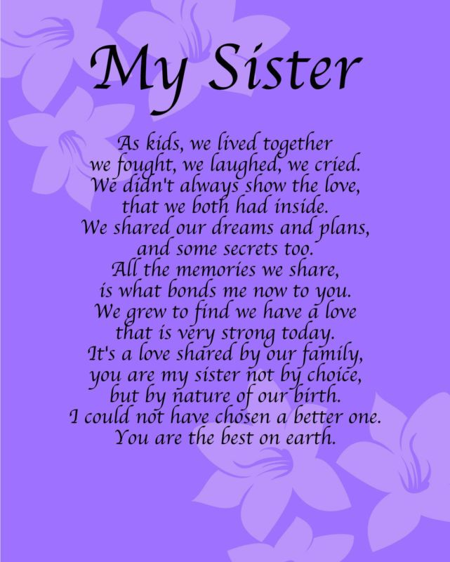 Best 25 Sister Poems Ideas On Pinterest Poems For
