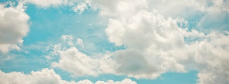 Facebook cover- sky and clouds