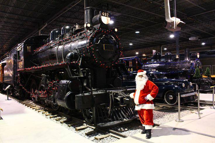Noël ferroviaire / Railway Christmas #trains #musée #museum #Noël #Christmas #Familyactivities