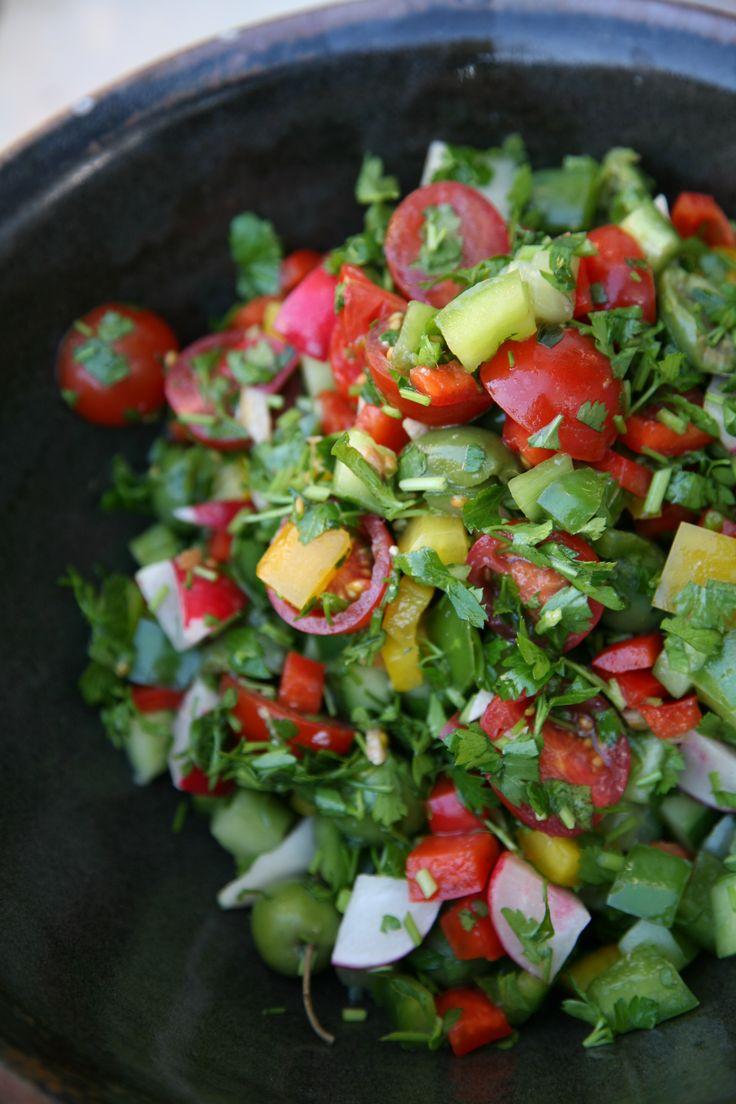 Moroccan Street Salad