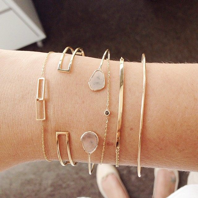 "Vale Jewelry | Bracelets. ""Repinned by Keva xo""."