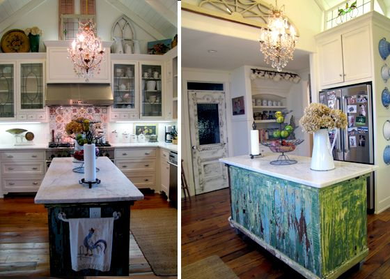 Architectural Salvage - this house has a ton of salvaged pieces in every room!  Lots of great ideas on this post!