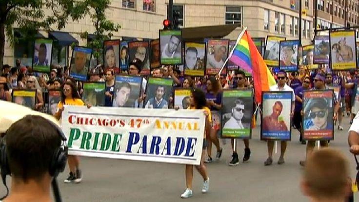 Photos: The 2016 Chicago Pride Parade    NBC Chicago