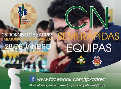 Casa do Xadrez de Alpiarça: Campeonato Nacional de Semi-Rápidas por Equipas - 2016/2017
