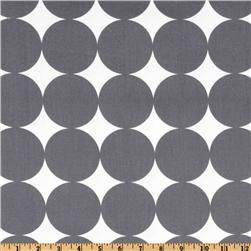 Just bought this DwellStudio fabric to recover my super-ugly couch...Dotscap Charcoal, Home Decor Fabrics, Charcoal Fabrics, Fabrics Com, Big Boys, Dotscap Fabrics, Studios Dotscap, Dwell Studios, Bedrooms Curtains
