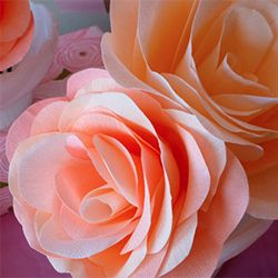 A step by step tutorial for making these gorgeous large roses (with lots of tips and tricks you can't find in other tutorials!)