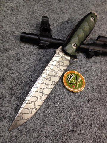 Blade Magazine shared Coye Knives's photo.