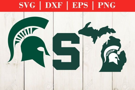 Michigan State University Logo 01 Digital File Bundle Files Etsy Michigan State Logo Michigan State University Michigan State