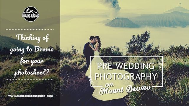 Pre wedding Photography on Mount Bromo. Its possible shoot indoor prewedding photo session and Outside prewedding with Mount Bromo background.