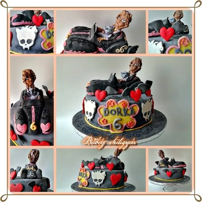 Monster High cake Clawdeen Wolf  cake https://www.facebook.com/BubajSutigyar
