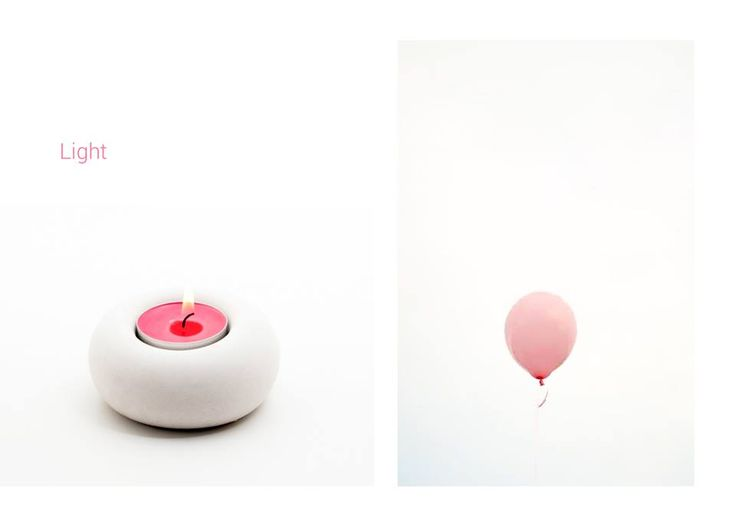 Concrete can be light #light #natural #pink #balloon #concrete #concretedesign #moodboard