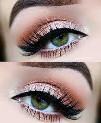 Resultado de imagen para maquillaje para ojos verdes