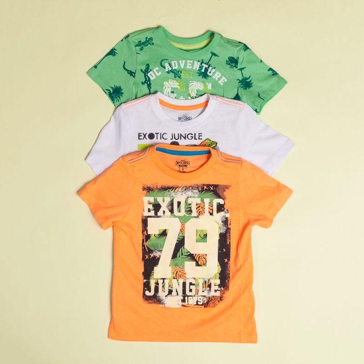 T-shirts for boys #prints #jungle #littlekids #selva @OFFCORSS