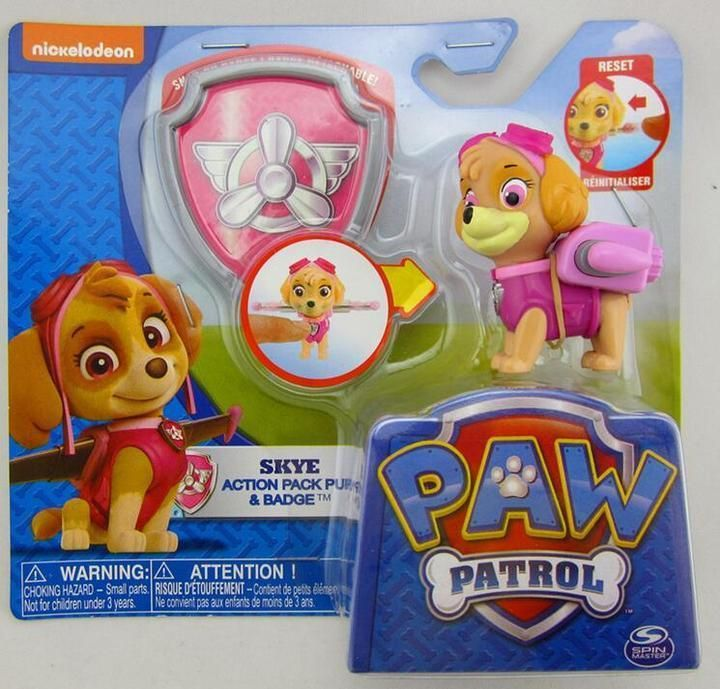 Paw Patrol Deformation Dog Action Figure Pack Pup Shield Kids Gift Toy Doll A04  | eBay