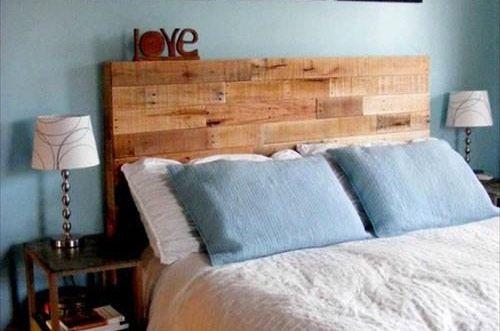 Oltre 25 fantastiche idee su testata del letto in legno su - Testate letto particolari ...