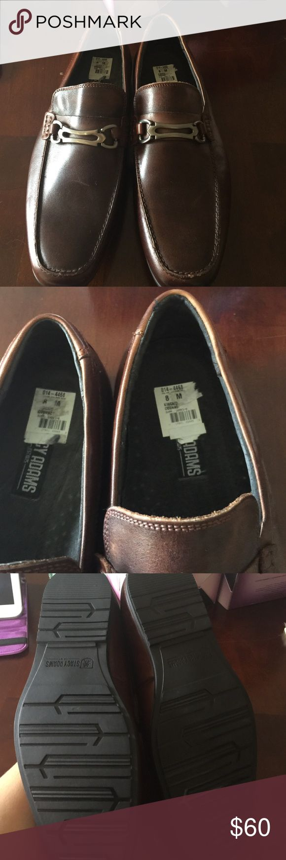Stacy Adams men's shoes  brand new no box Stacy Adams  men's shoes brand new  not box cognac color  I bought them for my husband. But  he never used them Stacy Adams Shoes Oxfords & Derbys