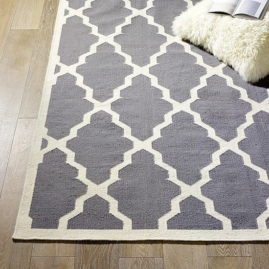 Don't know why, but am loving grey lately and while I usually dislike rugs with a passion, this one I could totally live with :)