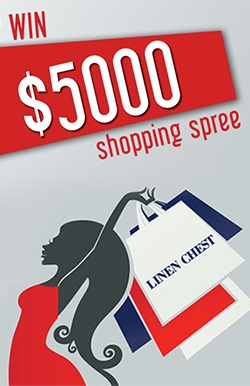 Win a $5,000 Linen Chest Shopping Spree