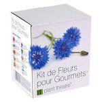 Kit de Fleurs pour Gourmets par Plant Theatre – 6 variétés de fleurs comestibles à cultiver – Idée cadeau: Tout ce dont vous avez besoin…