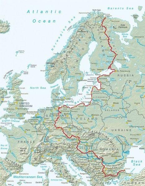 Una pista ciclabile al posto della cortina di ferro che divideva l'Europa - LifeGate   Tourism in Europe   Scoop.it