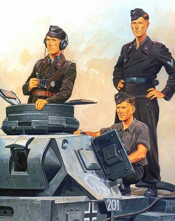 Немецкие танкисты картинки