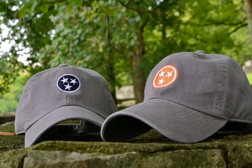 Tristar Hats Classic Gear Hats Navy Hats Tennessee Flag
