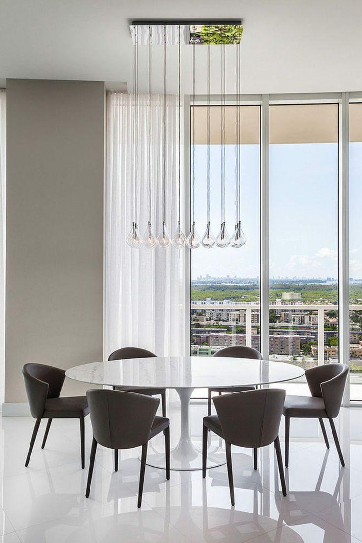 Ameublement luxueux pour cet appartement à Miami