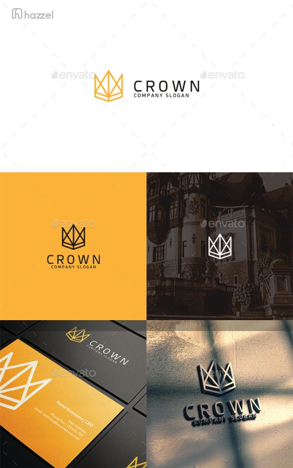 Crown Logo Template #design #logotype Download: http://graphicriver.net/item/crown-logo/12907991?ref=ksioks
