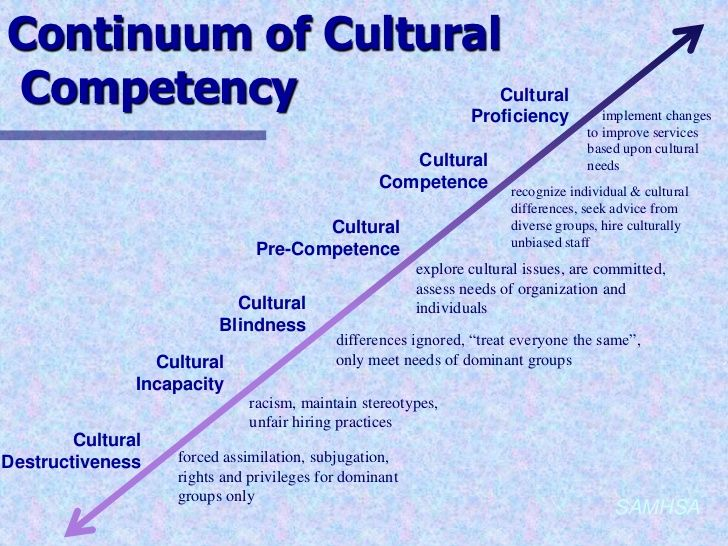 cultural competence continuum pictures to pin on