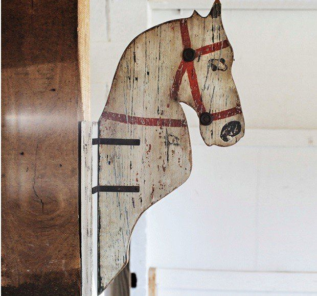 Horse Head Wall Hanging Wooden Horse Silhouette