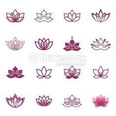 Lotusblumenzeichnung – Google-Suche