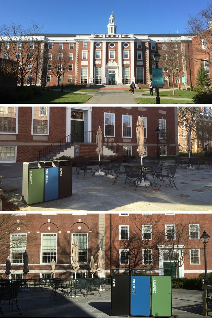 Customized Box Litter Bins at Harvard University.  Cestini per i rifiuti Box Litter Bins personalizzati, progettati per l'università di Harvard.  #arredo #urbano #street #furniture #design #project #metalco