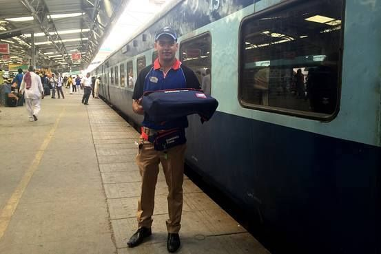 Domino's - Khushiyon ki train delivery grin emoticon Your favorite pizza company - Domino's Pizza India now offers delivery of pizzas on more than 200 train services and plans to roll out ordering for dozens of new routes in coming months. The fast-food chain has identified 41 such train stations, from Delhi to Agra to Jalandhar, which are located near its branches. You can place orders online, over the phone, or through text message at least two hours before the train pulls up to the…
