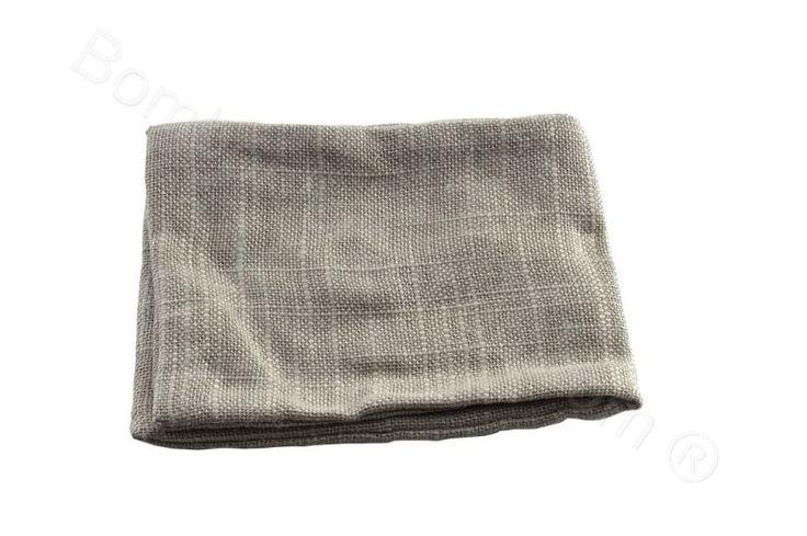 Sacchettino bustina portaconfetti fai da te in juta grigio perla (CB)