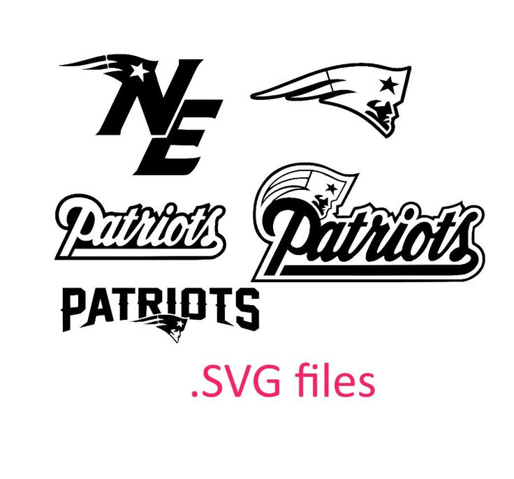 New England Patriots Svg Files For Silhouette Studio And