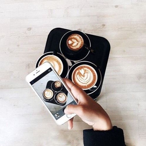 Nothing says coffee like 6am in the morning - am I right? On our blog, we share with you what your coffee choice says about you! / image via Pinterest