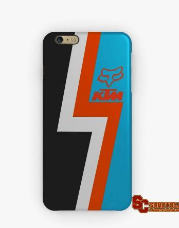 KTM Fox Racing Motorcycle | Apple iPhone 5 5s 5c 6 6s 7 Plus Samsung Galaxy S4 S5 S6 S7 EDGE Hard Case Cover