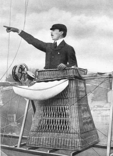 O gênio Alberto Santos Dumont. O verdadeiro pai da aviação!