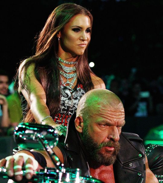 Triple H and Ste