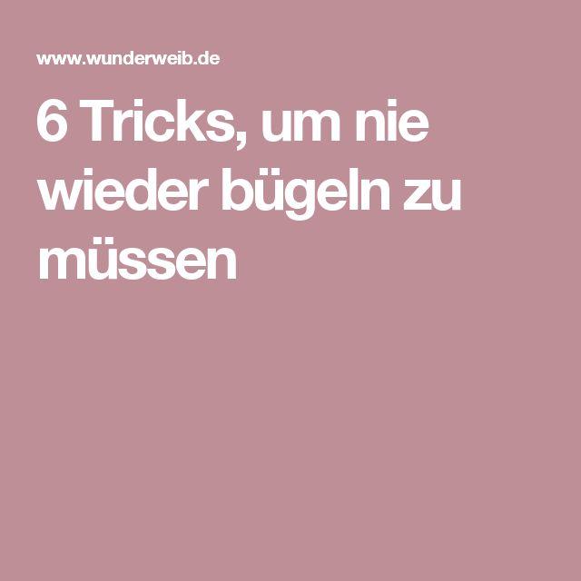 6 tricks um nie wieder b geln zu m ssen life hacks lifehacks and craft. Black Bedroom Furniture Sets. Home Design Ideas