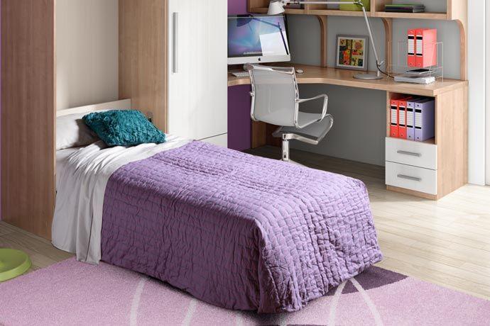 Mueble cama individual