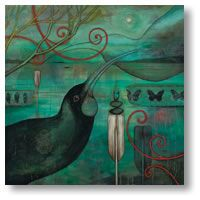 Huia (KF) by Kathryn Furniss - notecards