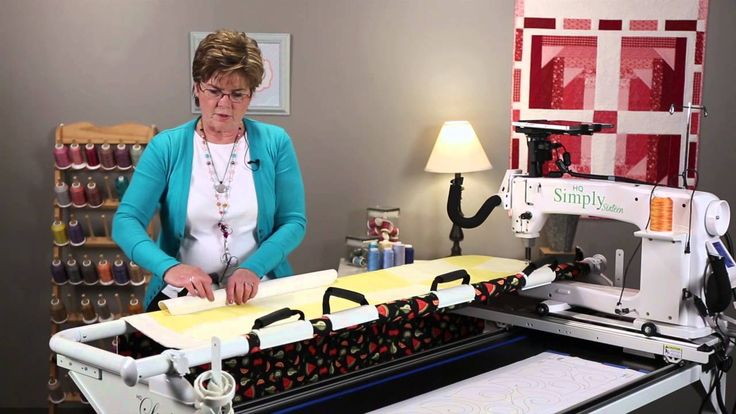 simply 16 quilting machine