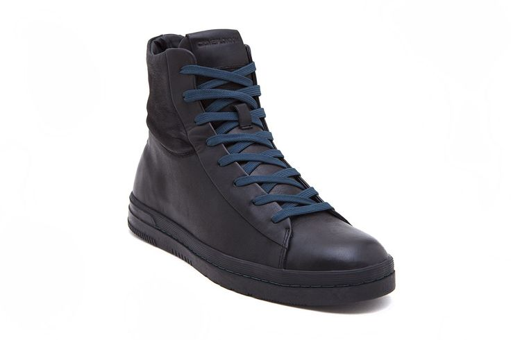 Crime 11740A17 Sneakers Homme BLACK 44