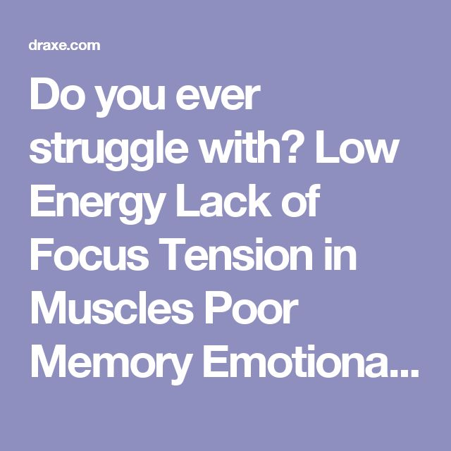 Do you ever struggle with?  Low Energy Lack of Focus Tension in Muscles Poor Memory Emotional Ups and Downs Lack of Motivation Female Infertility Male Low Testosterone Digestive Issues (leaky gut, IBD) Hypothyroidism Fatigue, even after getting a good nights sleep If so, you may have the symptoms of a vitamin B12 deficiency.