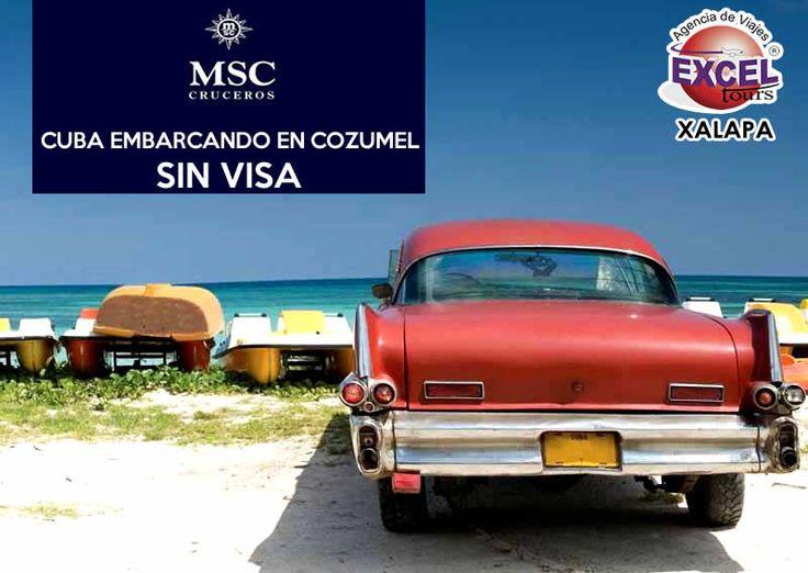 Disfruta de lo mejor de CUBA, Jamaica e Islas Cayman en un crucero 8 días y 7 noches saliendo desde Cozumel y lo mejor de todo SIN VISA! Reserva hoy mismo, salidas cada viernes a partir del 9 de di…