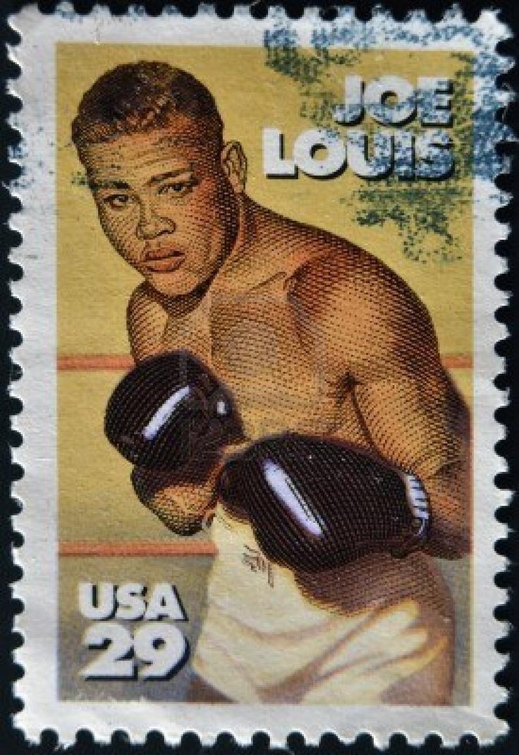 Joe Louis stamp