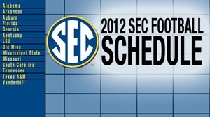 Check out the complete 2012 SEC Football Schedule