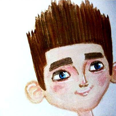 IG: @maggie_creates_ paranorman watercolor