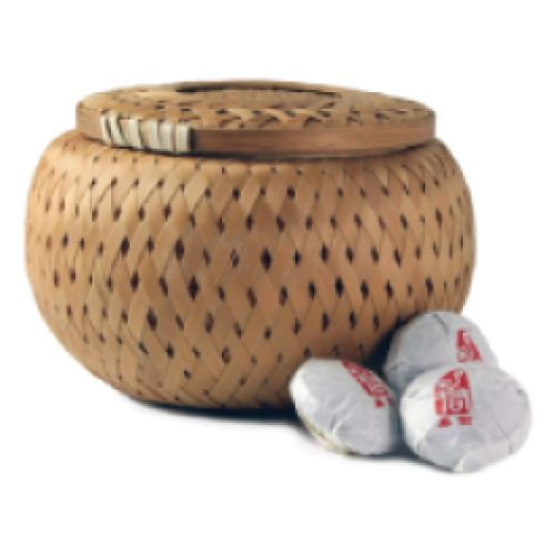 Tea Cargo Detox Puerh Tea Cakes - This is the tea for the purest and perhaps the shrewdest. Twenty individually wrapped 'cakes' of pure natural puerh which you break off to taste. Comes in a lovely little wicker basket.